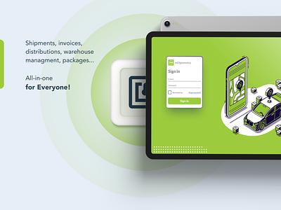 mOtpremnica app mobile application figma illustrations ui designs uiux ux ui design