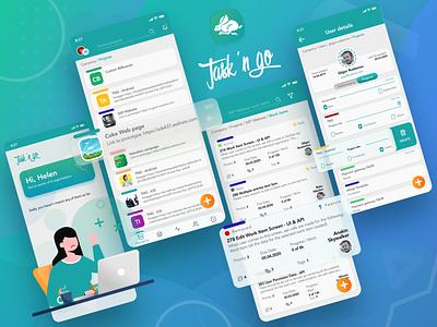 Task 'n Go figmadesign popular top mobile ux mobile design figma ui ux task managment task n go tasks