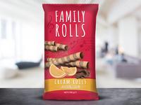 Family Rolls Packaging Design