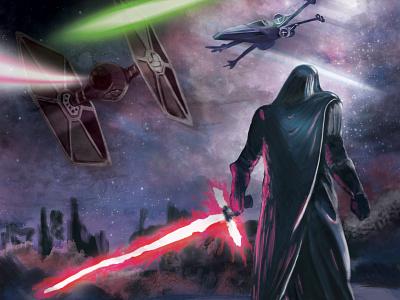 Kylo Ren Star Wars photoshop illutration starwars star wars kylo ren