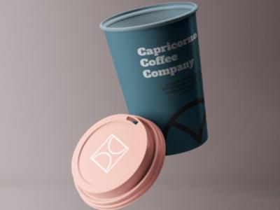 Capricorno Coffee Company - Drafts branding identity logo