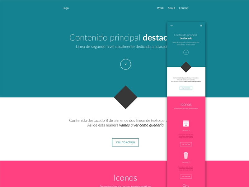 Free responsive template freeby free responsive