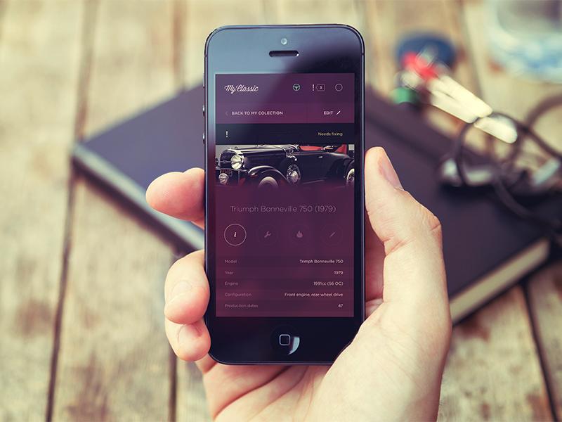 App cars app ui