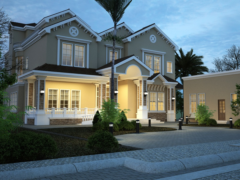 Villa Dubai walkthrough renders modeling lumion design autocad 3dsmax