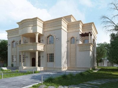 Traditional Villa Concept_ Abu Dhabi UAE