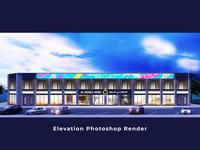 Elevation Photoshop Render