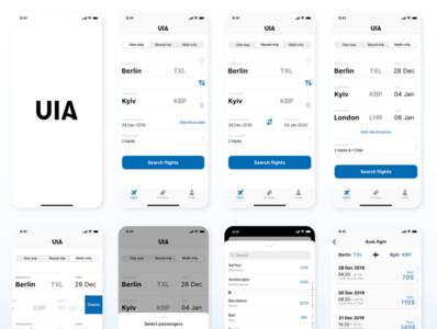 Flight app UIA
