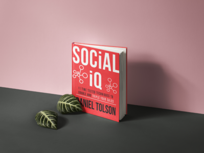 """Book cover of """"Social IQ"""""""