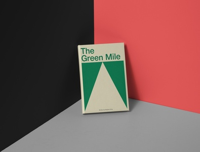 """Redesign of the book """"The Green Mile"""""""