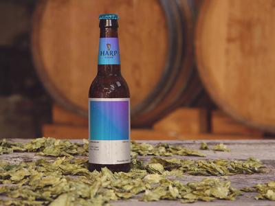 Harp beer redesign