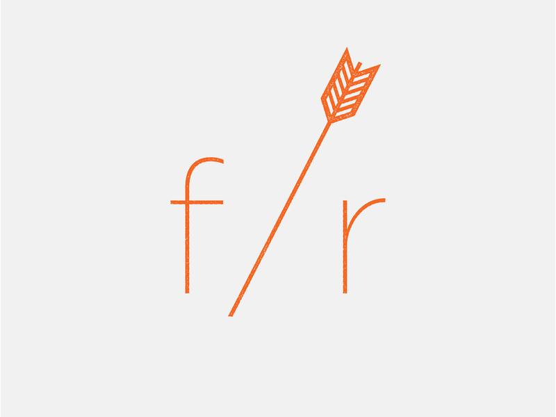 Fern & Roby Logo branding logo typography graphicdesign