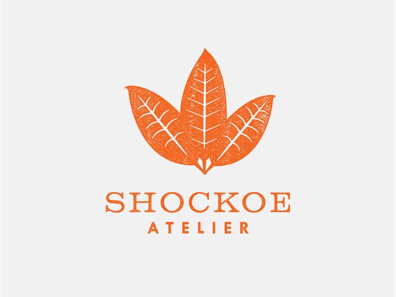 Shockoe Atelier Logo illustration logo branding typography graphicdesign