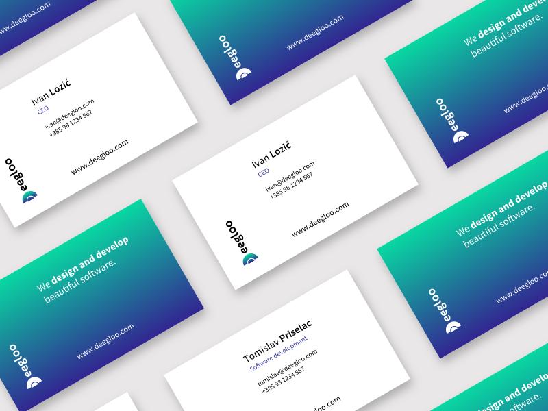 Deegloo Business Cards