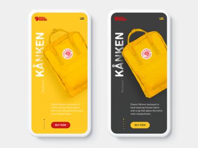 Fjällräven Kånken Backpack Concept