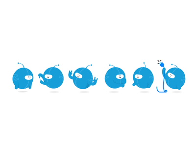 Six Chatting Chatbots