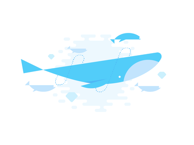 Wix Whale diamond water fish whale wix