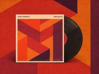 Monarch album art album cover texture