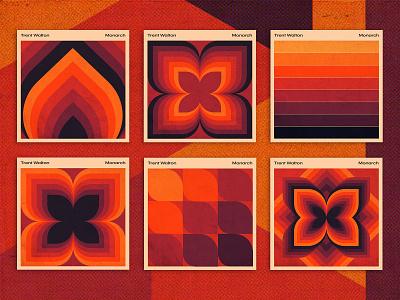 Monarch Cover Options album art album cover texture
