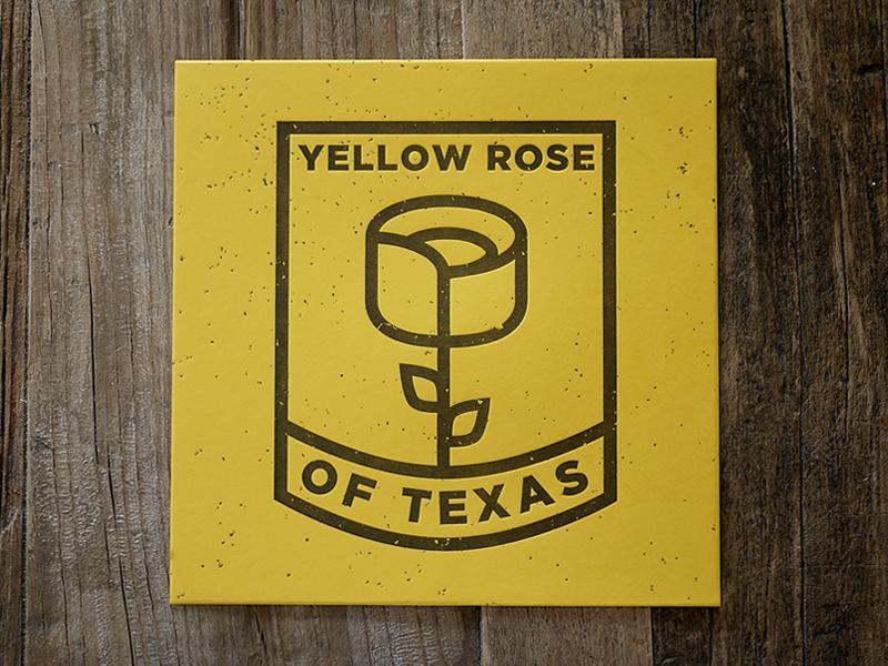 Yellow Rose yellow illustration texas heroes of texas