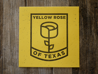 Yellow Rose yellow illustration texas heroes of texas