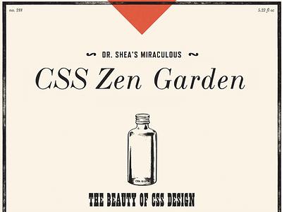 Zen Gardening css zen garden css typekit french clarendon ornamented wood type revival bodoni webfonts