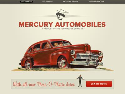 Mercury red beige proxima nova tamarillo typekit