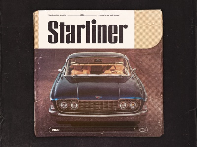 Starliner Texture Exploration typography texture