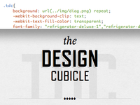 TDC in CSS3