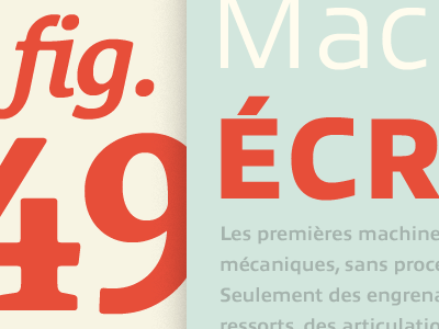 Fig. 49 allumi le monde courrier specimen typofonderie typography