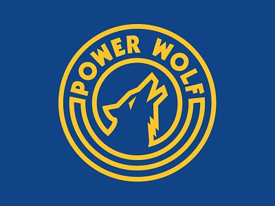Power Wolf t-shirts tshirt blue yellow cottonbureau