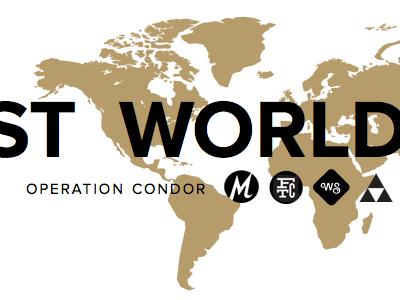 Lost World's Fairs proxima nova operation condor gold blog typekit frank chimero paravel mighty weightshift