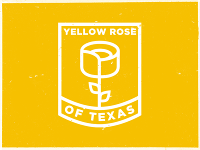 Yellow Rose of Texas yellow illustration texas heroes of texas