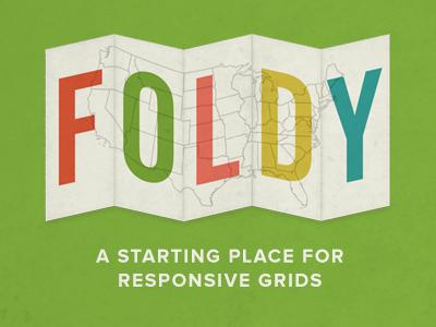 Foldy css illustration proxima nova alternate gothic