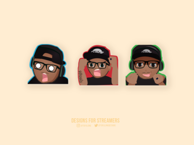 Emotes for streamers twitch mixer dlive
