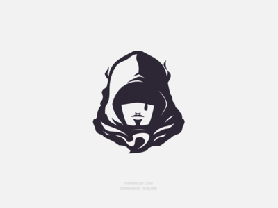 Simple Twitch Streamer Don Mystery Logo minimalist minimalism mysterious logo mysterious mystery twitch logo mascotlogo esportslogo esports streamer design branding twitch vector 2d illustration