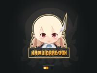 Chibi Anime Style Mascot Logo