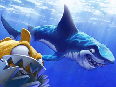 Shark thing illustration
