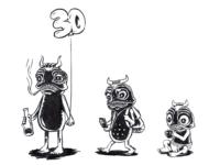 """""""Bull-Frog"""" Bob - inktober day 6 [30 BDay]"""