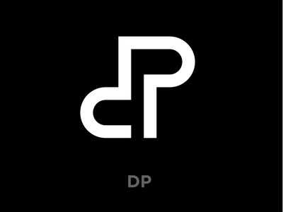 D and P logo concept