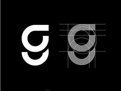 letter G ui vektor logo vector icon illustration ikon tipografi merek desain