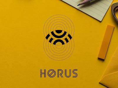 horus vector branding design ilustrasi ikon vektor logo desain