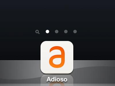 Add to Home Screen flat icon ios retina logo app sneak peek prerendered