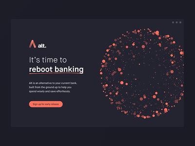 Alt Bank is live!