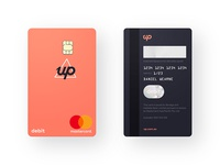 Up Vertical Debit Card