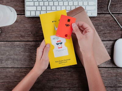Designing a Super Powered Welcome Experience welcome pack bank card bank mastercard print banking