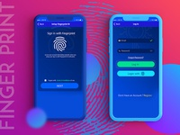 Set Up Fingerprint UI/UX