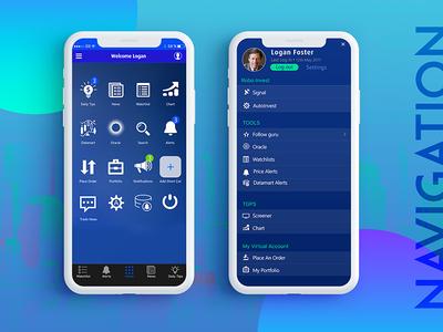 App Navigation / dashboard