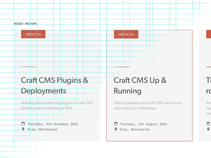 Craft CMS Card w/ Grid
