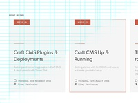 Craft CMS Card w/ Grid