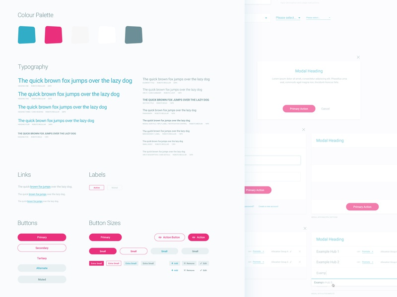 UI Kit | Elements Style Guide